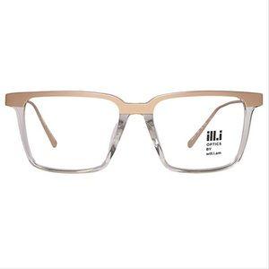 ill.i by will.i.am WA520V04 Gold Clear Glasses